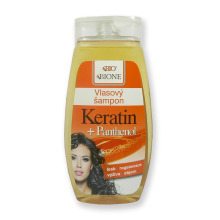 Bione Cosmetics Vlasový šampon Keratin + Panthenol 260 ml