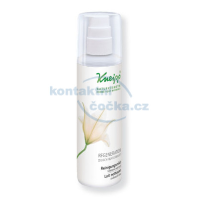 Kneipp Regenerační čistící pleťové mléko 200 ml