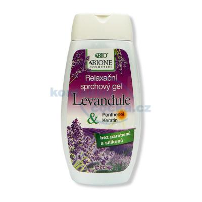Bione Cosmetics Lavender Relaxační sprchový gel 260 ml