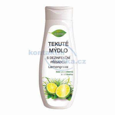 Bione Tekuté mýdlo s dezinfekční přísadou Lemongrass+Limetka 300 ml