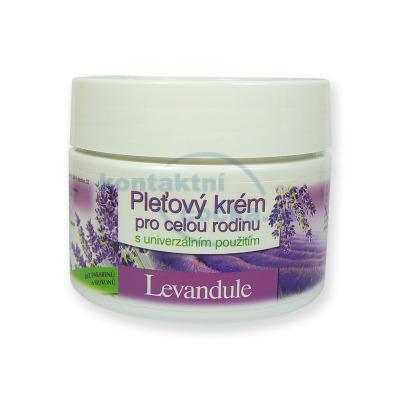 Bione Cosmetics Levandule pleťový krém pro celou rodinu 260 ml