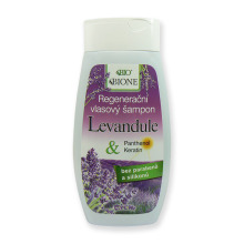 Bione Cosmetics Regenerační vlasový šampon Levandule 260 ml