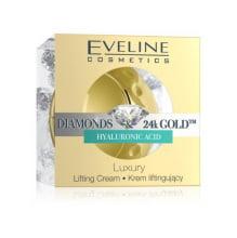 liftingový krém EVELINE Diamonds & 24k Gold Therapy 50 ml