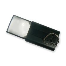 Lupa kapesní vystřelovací s osvětlením RT16 - zvětšení 5x