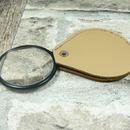 Lupa skleněná v koženém pouzdře - LK45 - zvětšení 4,5x