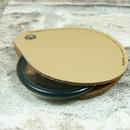 Lupa skleněná v koženém pouzdře LK45 - zavřená