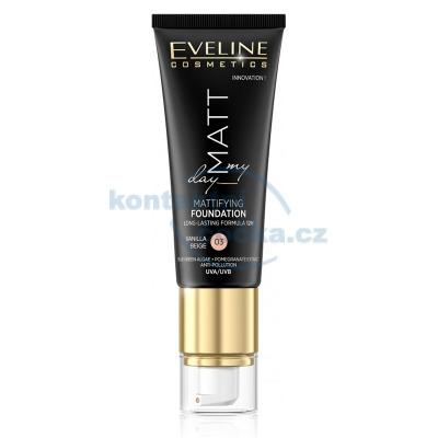 Eveline Cosmetics - Matt My Day dlouhotrvající make-up 40 ml VANILLA BEIGE 03