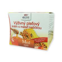 Med + Q10 výživný pleťový krém s mateří kašičkou 51 ml