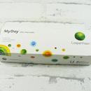 MyDay (30 čoček) jednodenní kontaktní čočky - horní pohled