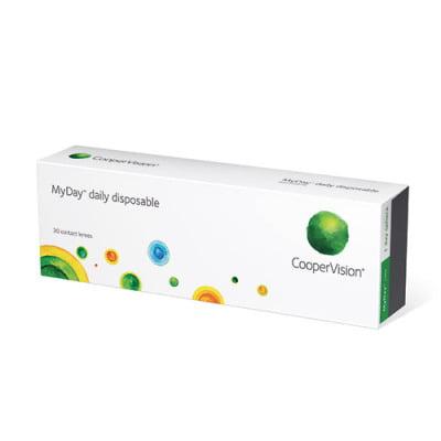kontaktní čočky jednodenní MyDay daily disposable (30 čoček)