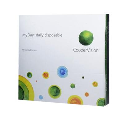 kontaktní čočky jednodenní MyDay (90 čoček)