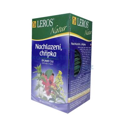 Bylinný čaj Leros Natur Nachlazení, chřipka 20x 1,5 g