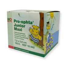 Pro-Ophta Junior Okluzor náplasti Maxi 7,0 x 5,9 cm - 100 ks