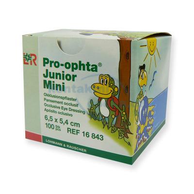 Okluzory Pro-ophta Junior Mini 100 kusů