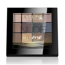 Eveline All in One Eyeshadow Palette NUDE