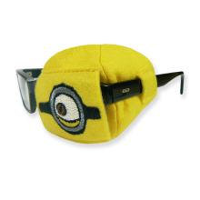Okluzor látkový dětský žlutý Mimoni 1 kus
