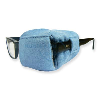 Okluzor látkový modrý