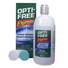 roztok na čočky OPTI-FREE Express 355 ml s pouzdrem