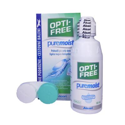 roztok na čočky OPTI-FREE PureMoist 90 ml s pouzdrem