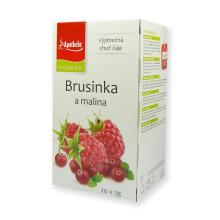 Apotheke ovocný čaj Brusinka a malina 20 x 2g
