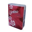 Papírové kapesníčky Satin mini třívrstvé Linteo 10 kusů - červené