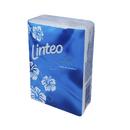 Papírové kapesníčky Satin mini třívrstvé Linteo 10 kusů - modré