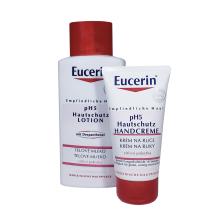 hydratační tělové mléko 200 ml a krém na ruce 75 ml Eucerin pH5