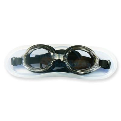 Plavecké brýle dioptrické černé