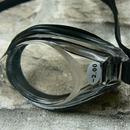 Plavecké brýle dioptrické černé - detail dioptrií