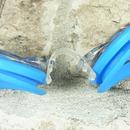 Plavecké brýle dioptrické modré - detail uchycení nosníku