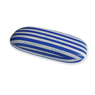 Feba Pouzdro na brýle dámské pruhované 354 modrobílé