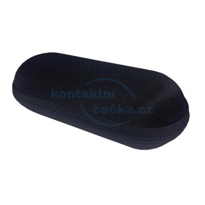 Pouzdro na brýle sportovní se zipem 463 - černé