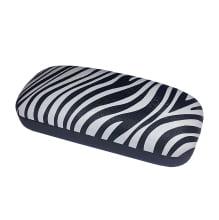 Pouzdro na brýle dámské vzor zebra 532