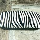 Pouzdro na brýle dámské - vzor zebra 532