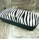 Pouzdro na brýle dámské vzor zebra - 532