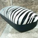 Pouzdro na brýle dámské vzor zebra 532 - detail