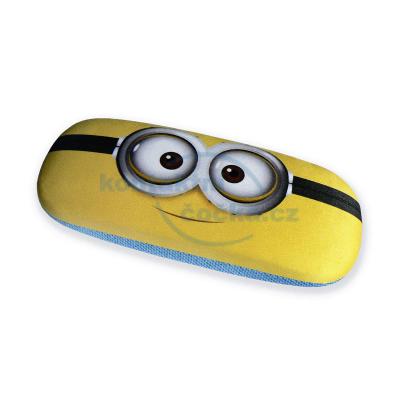 Pouzdro na brýle dětské Mimoni s mikroutěrkou