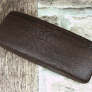 Pouzdro na brýle pánské imitace dřeva - tmavě hnědé bahenní dub