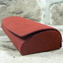 Dámské odlehčené pouzdro na brýle 700073 červené - detail