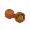 Pouzdro na kontaktní čočky 3D - pomeranč