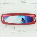 Pouzdro na jednédenní kontaktní čočky - léto červené