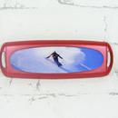 Pouzdro na jednédenní kontaktní čočky - zima červené