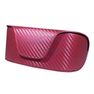 Pouzdro na sluneční brýle 800106 - červené