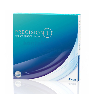 jednodenní kontaktní čočky Precision1 (90 čoček)
