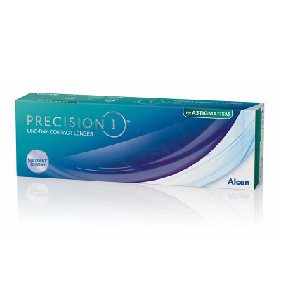 jednodenní kontaktní čočky PRECISION1 for Astigmatism (30 čoček)