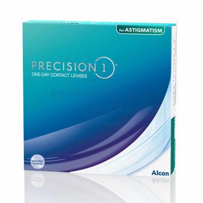 jednodenní kontaktní čočky PRECISION1 for Astigmatism (90 čoček)