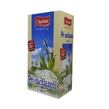 Při nachlazení s lípou bylinný čaj 20x1,5 g
