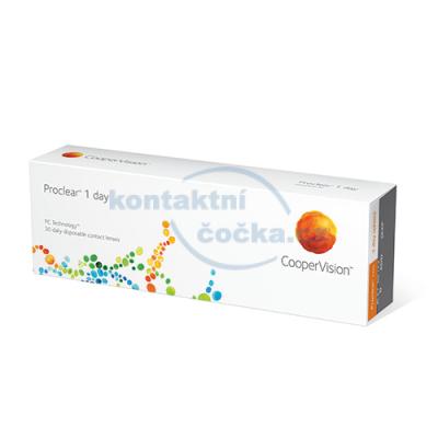 kontaktní čočky jednodenní Proclear 1 day (30 čoček)