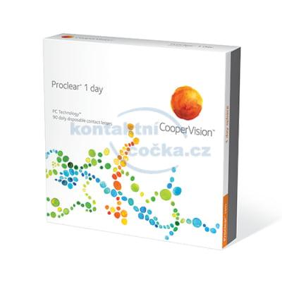 kontaktní čočky jednodenní Proclear 1 day (90 čoček)
