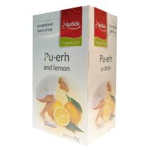 Bylinný čaj Apotheke Pu-erh a citron 20x1,8 g (1)
